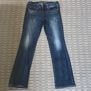 American Eagle boot-cut jeans